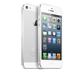 Apple - iPhone 5 (White & Silver)