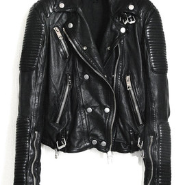 BURBERRY PRORSUM - Leather Biker Jacket