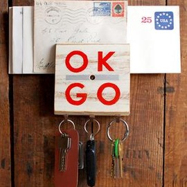 REINSIGN - Ok Go Reclaimed Wood Hook