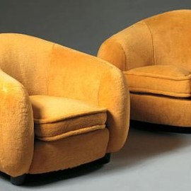 Polar Bear Armchair & Coach, Museum Pieces, 1953
