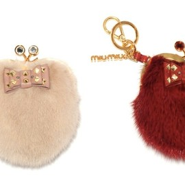 miu miu - Fur Coin Case - Valentine's Day 2012