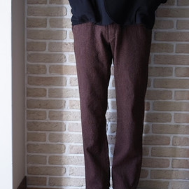mando - tweed trousers