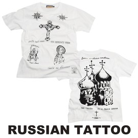 ビンセントベガ - russian tattoo T shirt