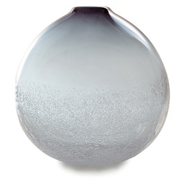 Caleb Siemon - grey bubble round vase