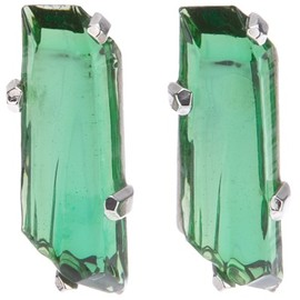 Yves Saint Laurent - Vintage green glamour earrings