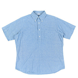 INDIVIDUALIZED SHIRTS - Pullover Shirts Classic Fit Heritage Chambray-Blue