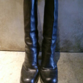 GUIDI - long back zipp boots
