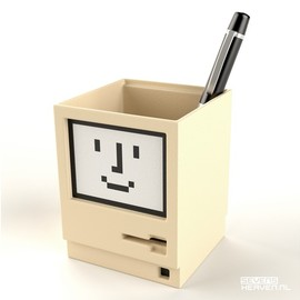 Apple - Apple Macintosh pen holder