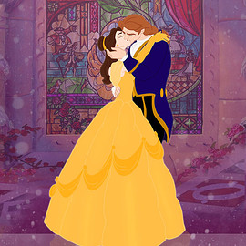Disney - ♡Bell and Adam♡