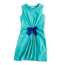 crewcuts - Girls' gathered bow dress