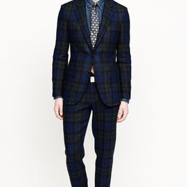 J.CREW - Plaid Flannel Wool Suits