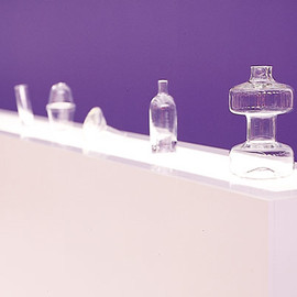 marco sousa santos - exhibition design for SWR, hand made glass of Marlnha Grande 1098
