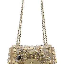 Mulberry - Jewelled Lily Bag