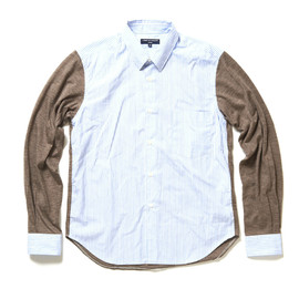 COMME des GARCONS HOMME - Knit Sleeve Shirt
