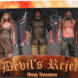 "NECA - THE DEVIL'S REJECT 7"" Action Figure 3-Pack Box Set"