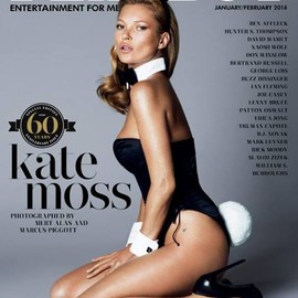 PLAYBOY - kate moss is playboy cover girl of 60th anniversary issue