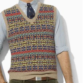 POLO RALPH LAUREN - Fair Isle Wool Best