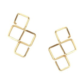 byboe - Square Cluster Earrings