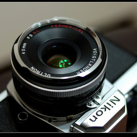 Voigtlander - ULTRON 40mm F2 SL Aspherical
