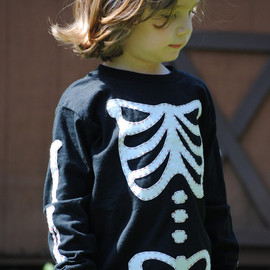 Onceuponastory - Dem Bones toddler long sleeved T shirt