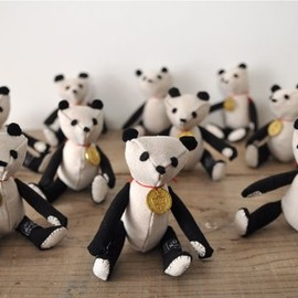 R & D.M.Co- - Stuffed Toy Panda