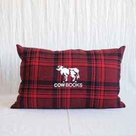 COW BOOKS - Reading Cushion Large #red