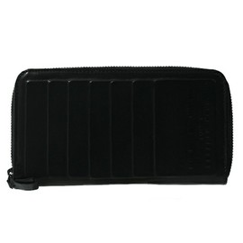 Natalia Brilli - LARGE WALLET W/ZIP ON 3 SIDE BLACK