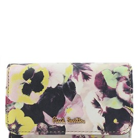 Paul Smith - HAZY PANSY CARD CASE