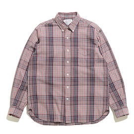 SUNNY ELEMENT - Campus BD Shirt-Red Check