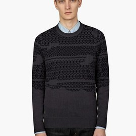 Maison Martin Margiela - 10 Men's Repaired Knit Jumper