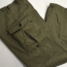 US Army - M-43 HBT Trousers/Reproduction