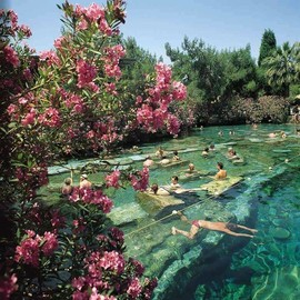 Pamukkale, Turkey - Ancient thermal pool