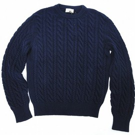 MAISON KITSUNÉ - cable knit