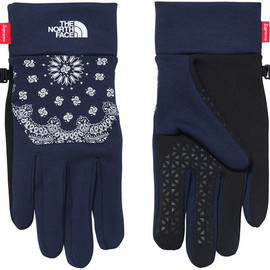 Supreme, THE NORTH FACE - Bandana ETIP Glove