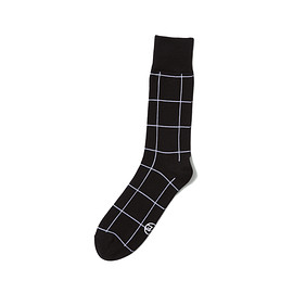 uniform experiment - WINDOW PANE REGULAR SOCKS