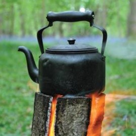 Swedish Log Candle - perfect for camp cooking - Swedish Log Candle - perfect for camp cooking