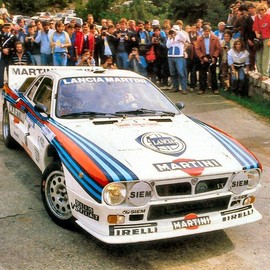 LANCIA - RALLY 037 MARTINI RACE CAR (1983)