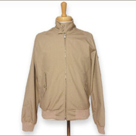 Baracuta G9 Harrington Jacket - Natural Cream バラクータ G9