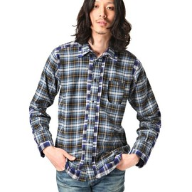 ANREALAGE - DOUBLE LAYERED FLANNEL SHIRT