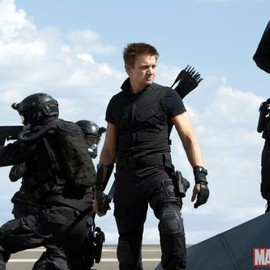 Jeremy Renner stars as Hawkeye in Marvel's The Avengers