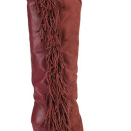 Isabel Marant - Manly sued and leather knee boots