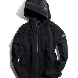 DESCENTE ALLTERRAIN - Air Inflator Hooded Jacket
