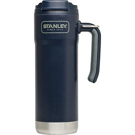 Stanley - Stanley Adventure Vacuum Insulated Travel Mug, Hammertone Navy, 20 oz