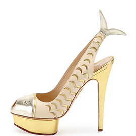 Charlotte Olympia - Catch of the Day Platform Pump