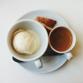 espresso & icecream