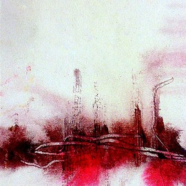 Paul Pulszartti - Silent memory, action-abstract painting