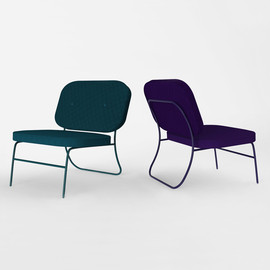 phillip jividen - cyan lounge chair