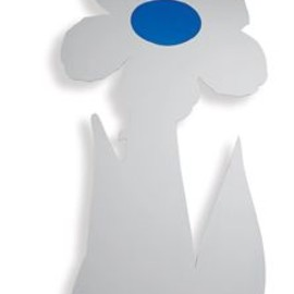 Jeff Koons - Inflatable Flower Sculpture (Blue)