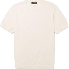 Beams Plus - Slim-Fit Knitted Linen T-Shirt