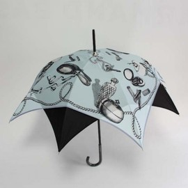 CHANTAL THOMASS - square printed umbrella